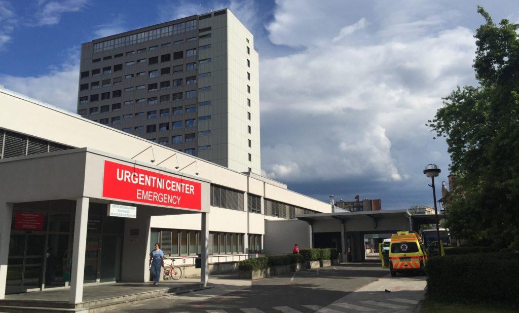 Začasna kontejnerska bolnišnica v UKC Maribor