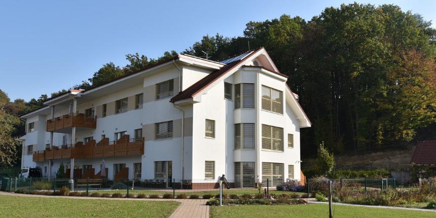 Nov prizidek doma za starostnike Juršinci