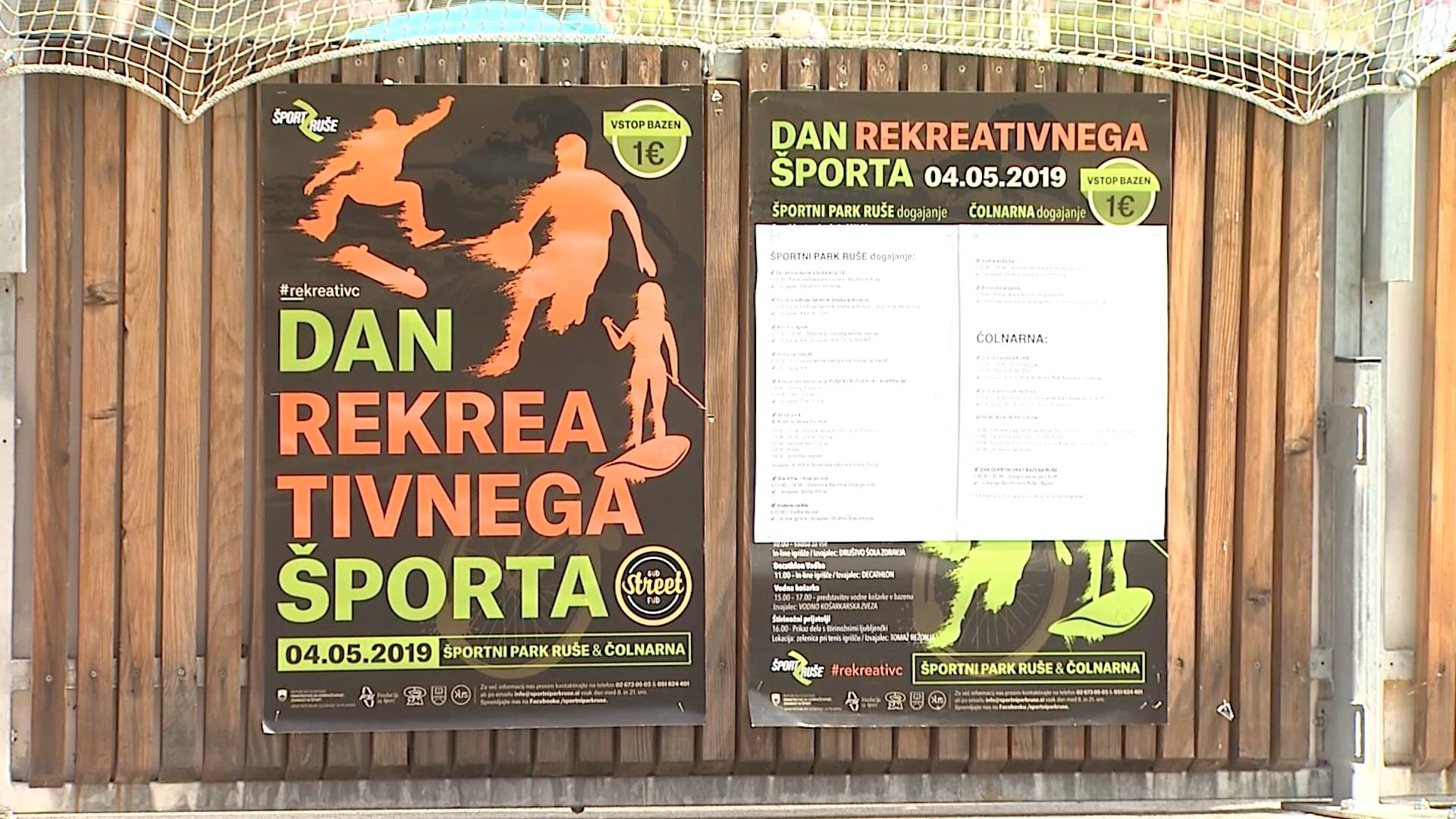Dan rekreativnega športa v Rušah