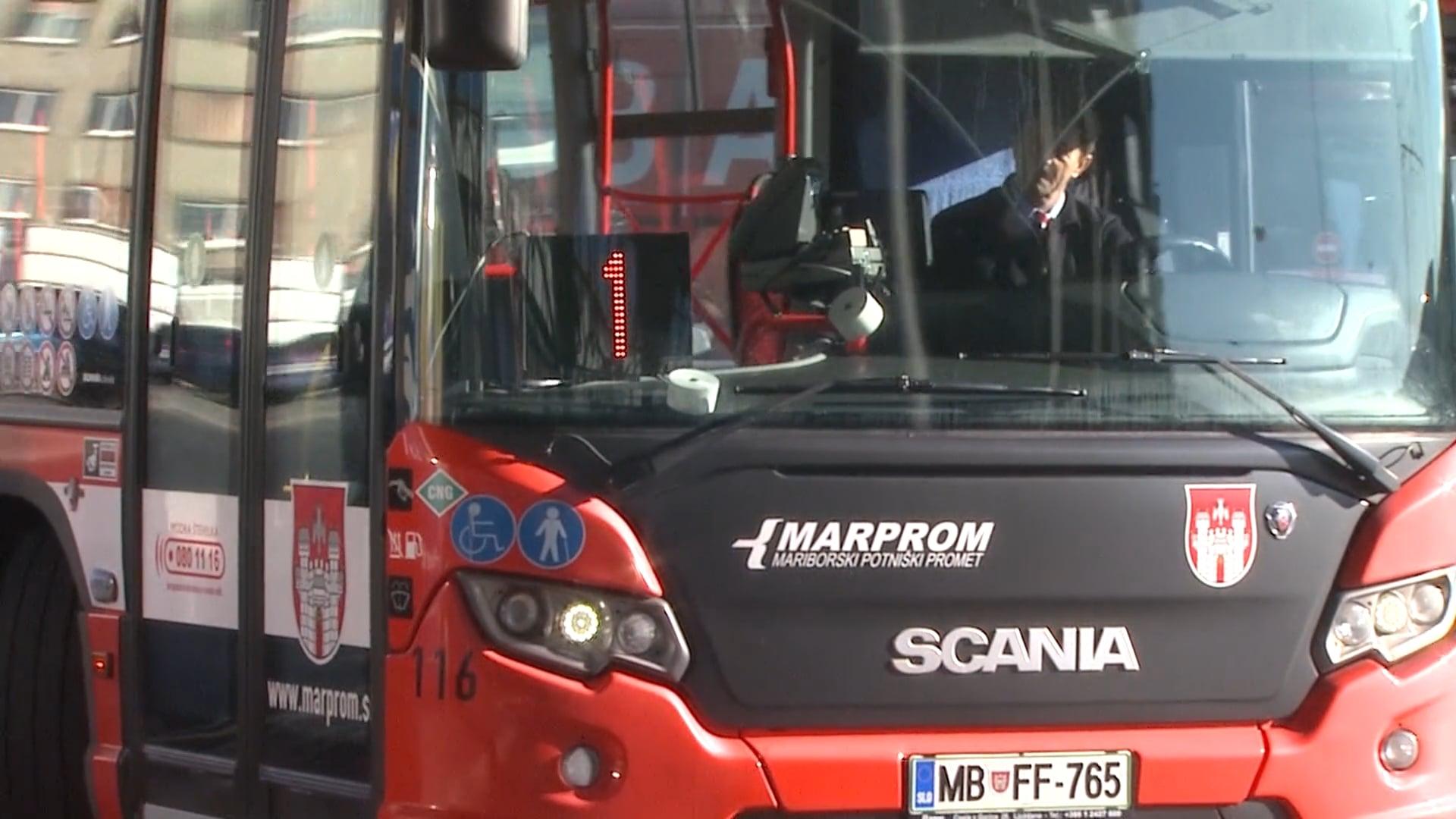 Javni promet v Mariboru že ustavljen