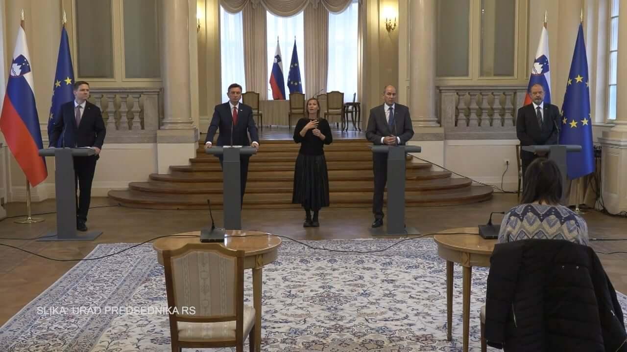 Izredno srečanje štirih predsednikov