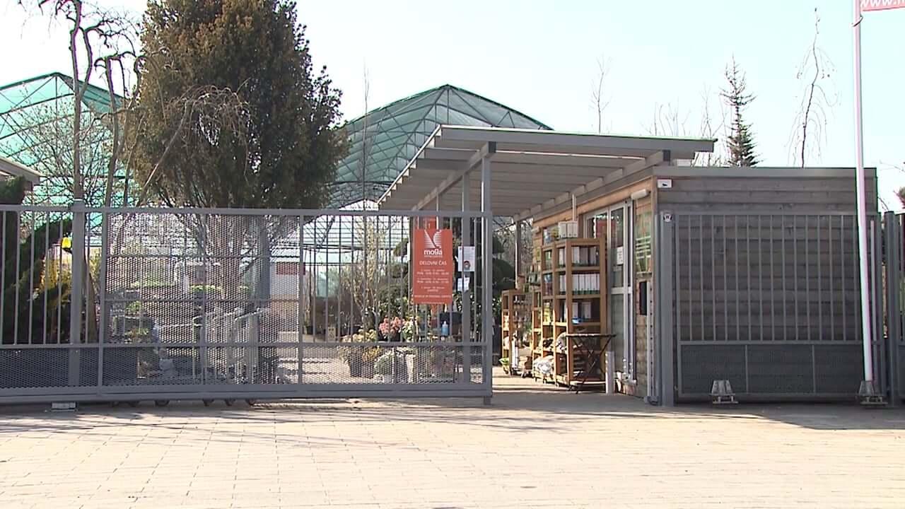 Vrtnarije in drevesnice znova odprte
