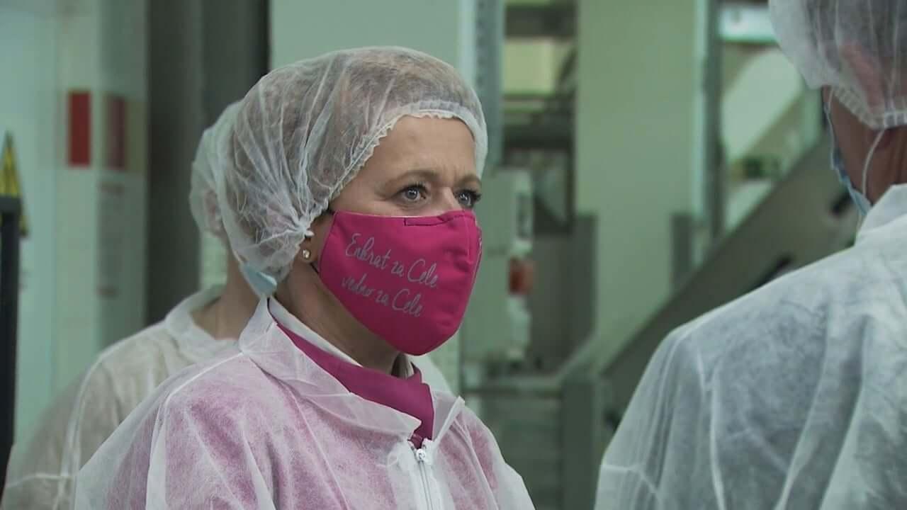 Kmetijska ministrica obiskala pekarno Žito