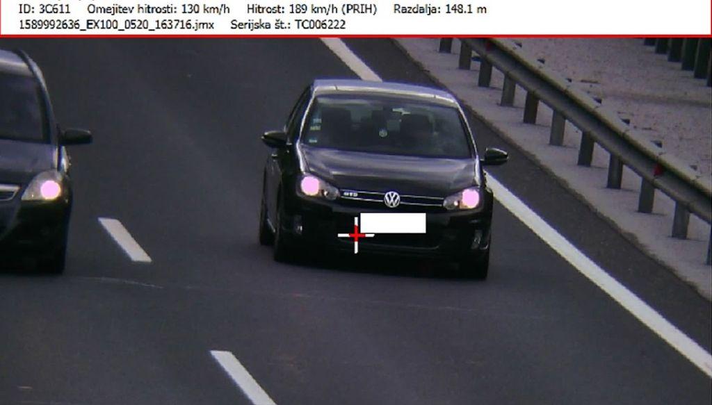 Večina voznikov prilagodila hitrost, izstopajo pa posamezniki z visokimi prekoračitvami