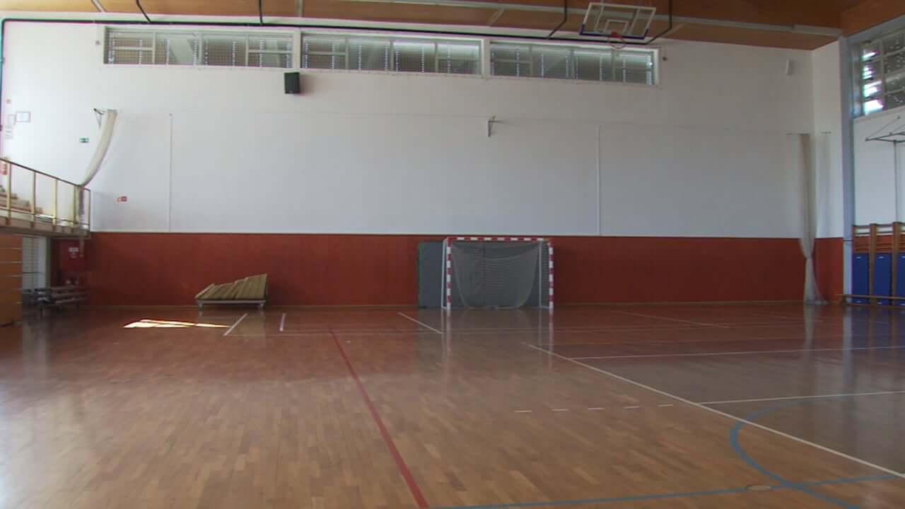 Obnova športne dvorane