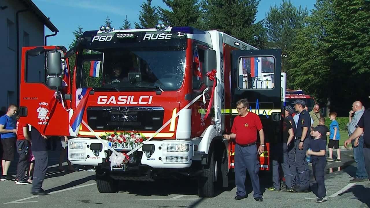 Ruški gasilci dobili novo cisterno