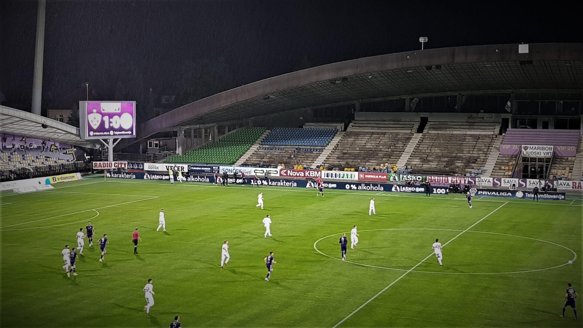 Maribor se z visoko zmago bliža vrhu lestvice