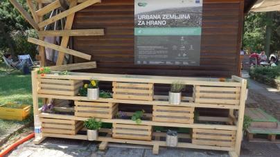 Zelišča, zelenjava in cvetlice krasijo prvi vertikalni vrt