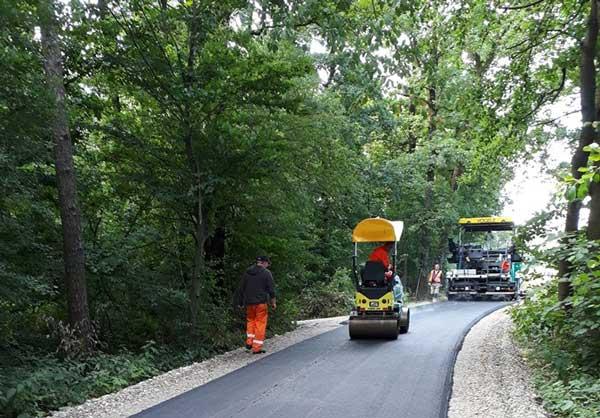 Prenova ceste in novo krožišče v Staršah