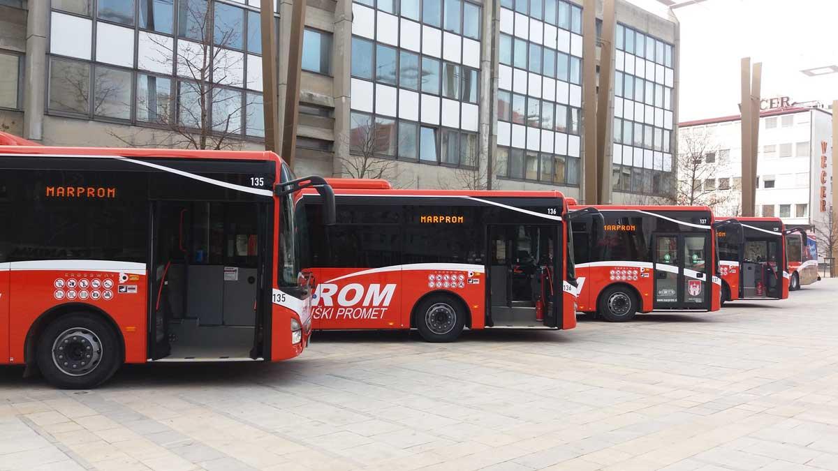 Marprom bogatejši za šest novih avtobusov