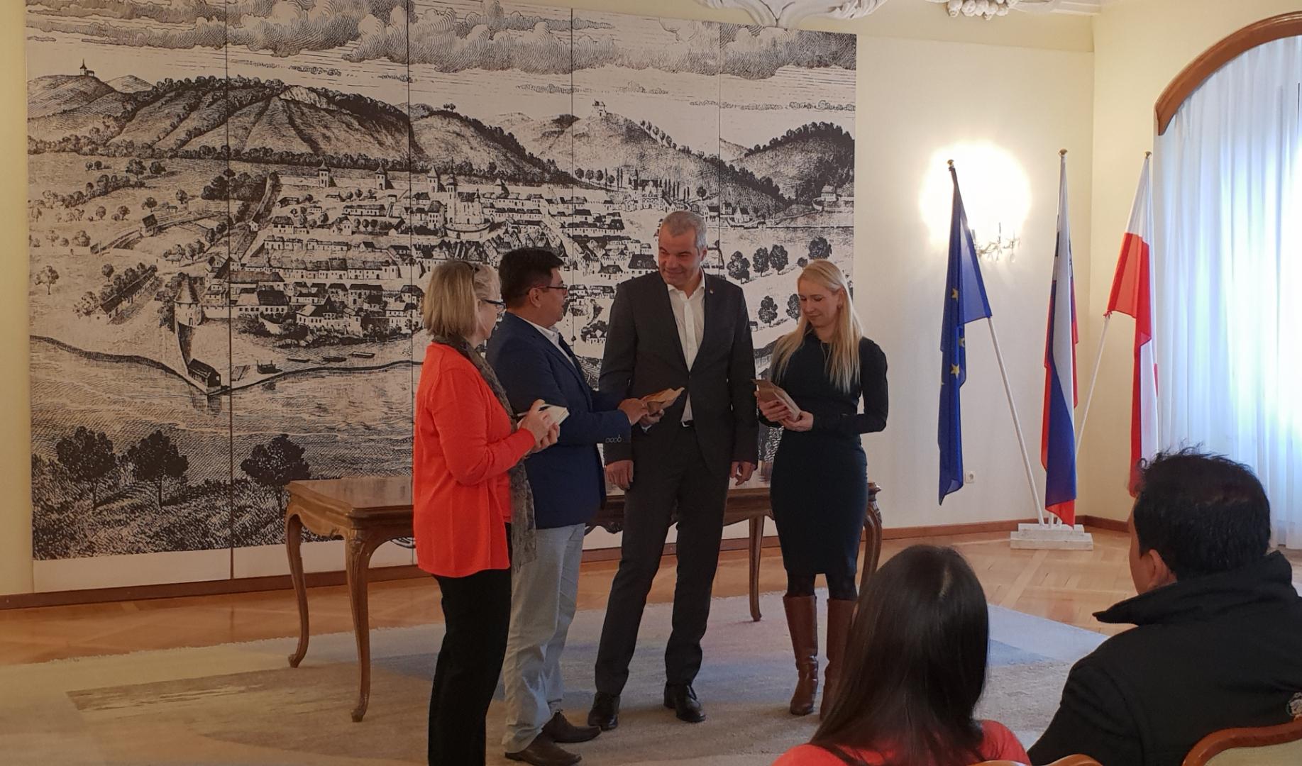 Perujska delegacija na obisku v Mariboru