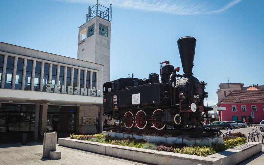 Prenova železniške postaje v Mariboru