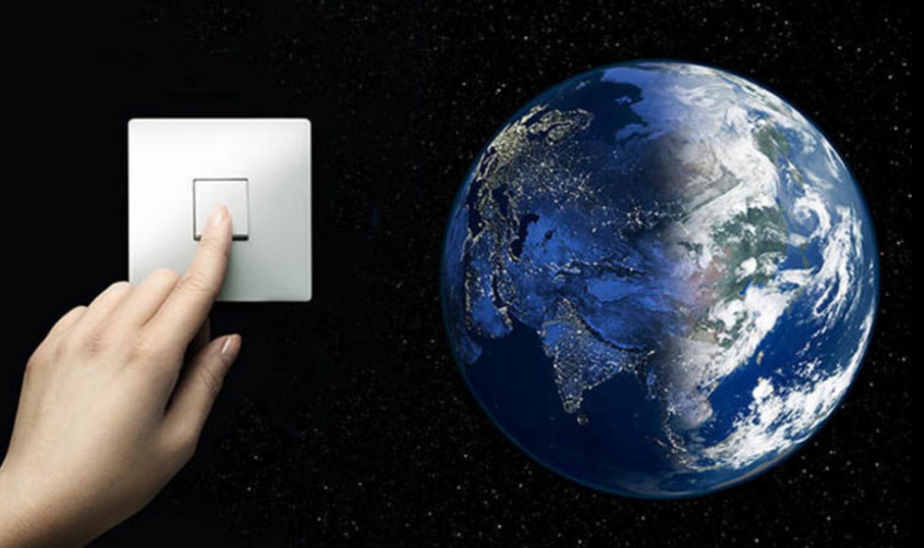 Pomagajmo Zemlji in ugasnimo luči