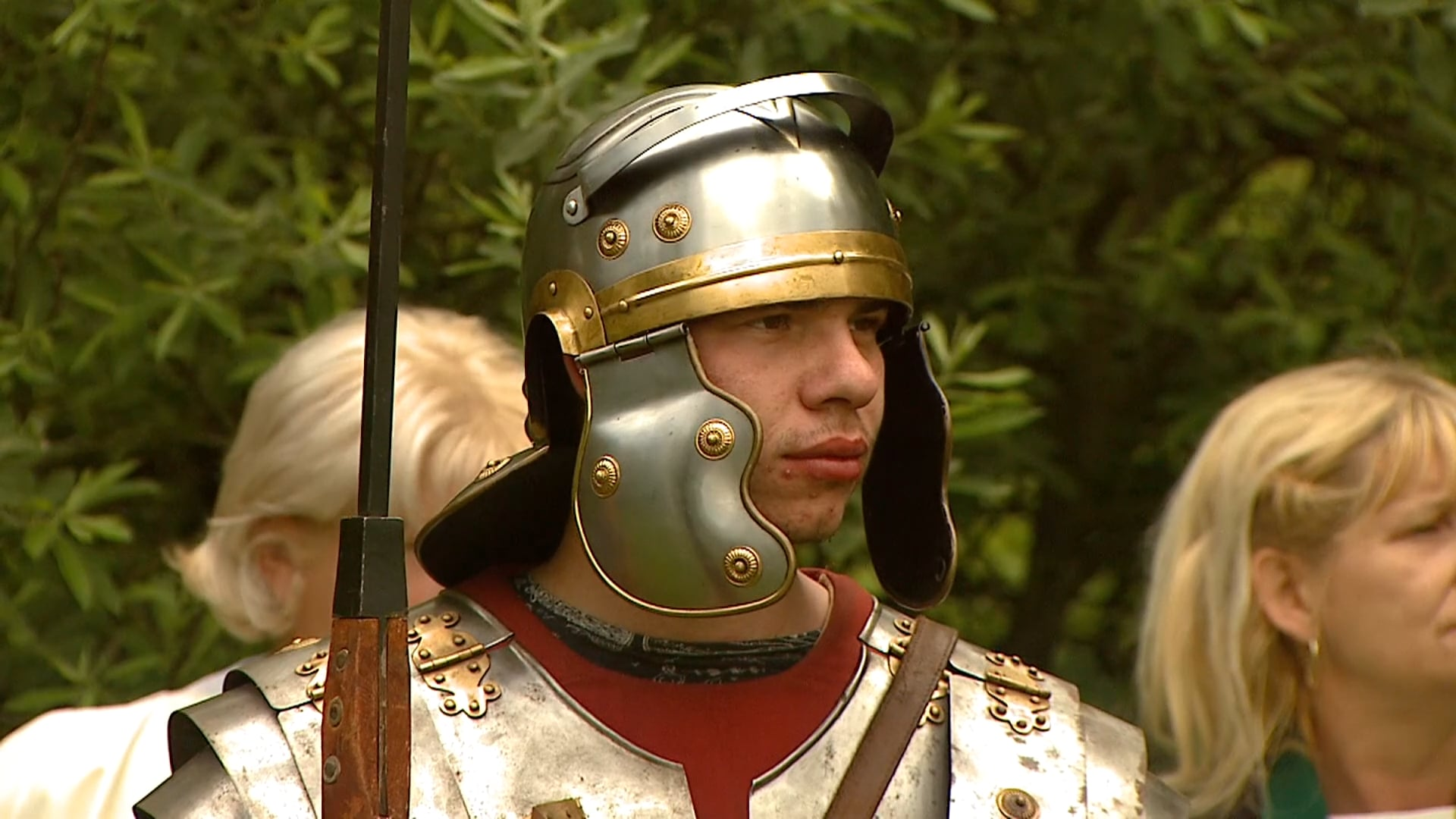 Rimske igre pri izviru Lübe vodice