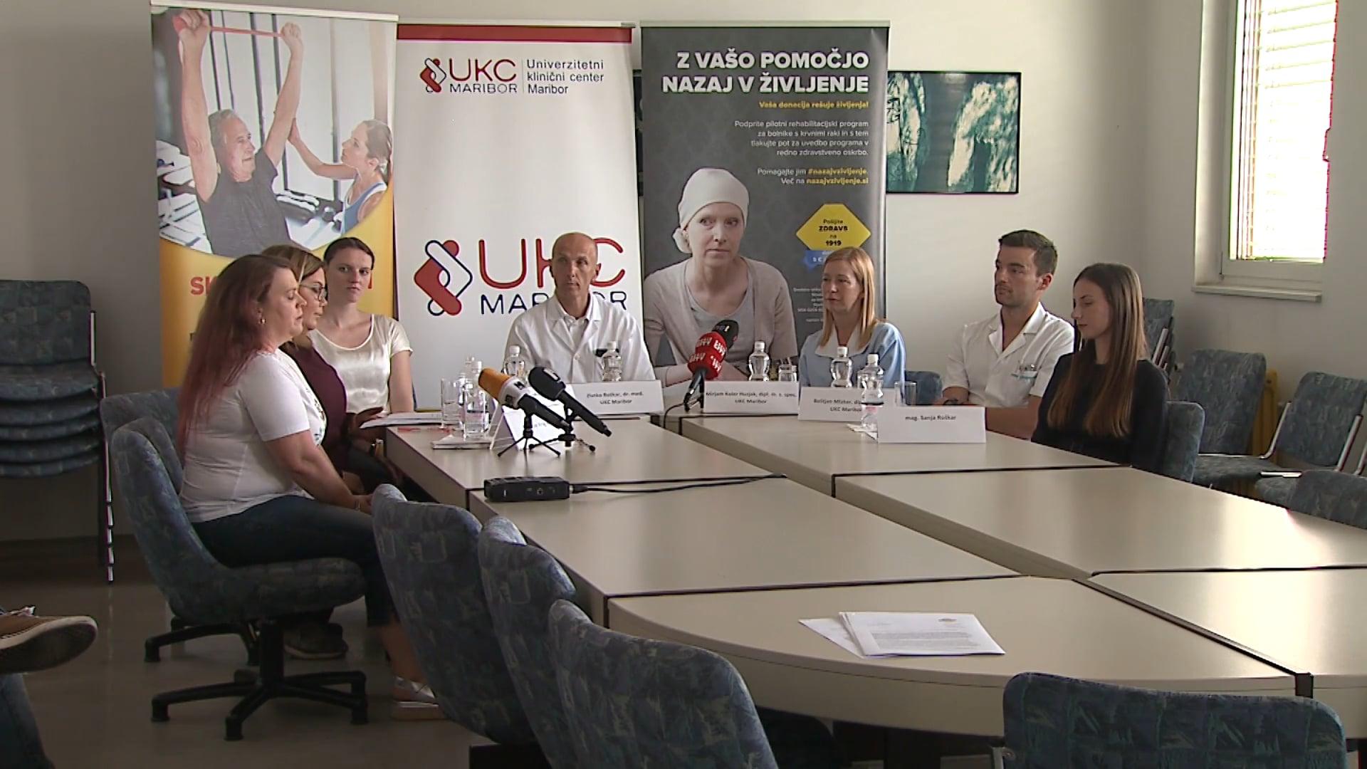 Rehabilitacija bolnikov s krvnimi raki tudi v Mariboru