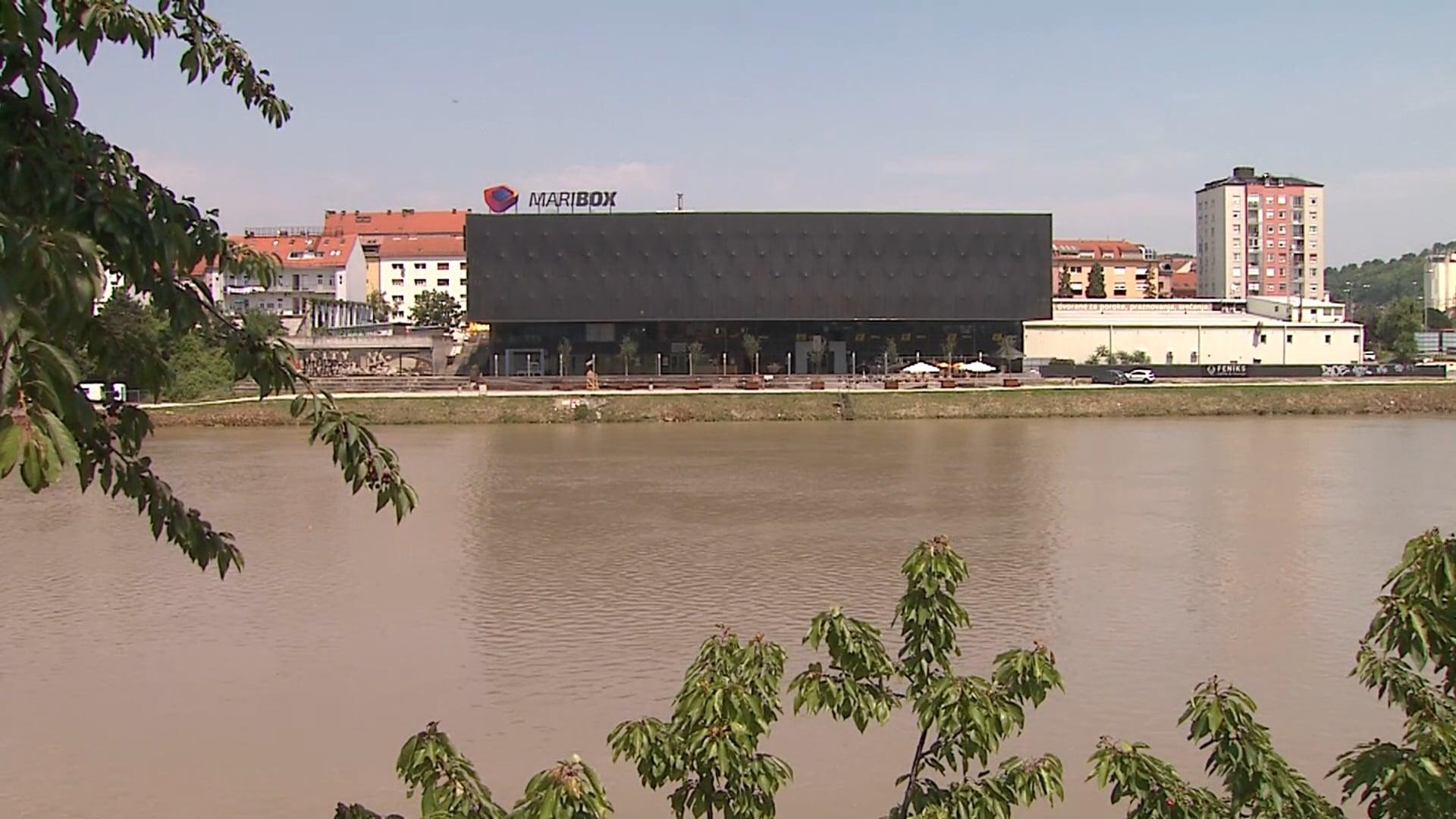 Mestna plaža v Mariboru