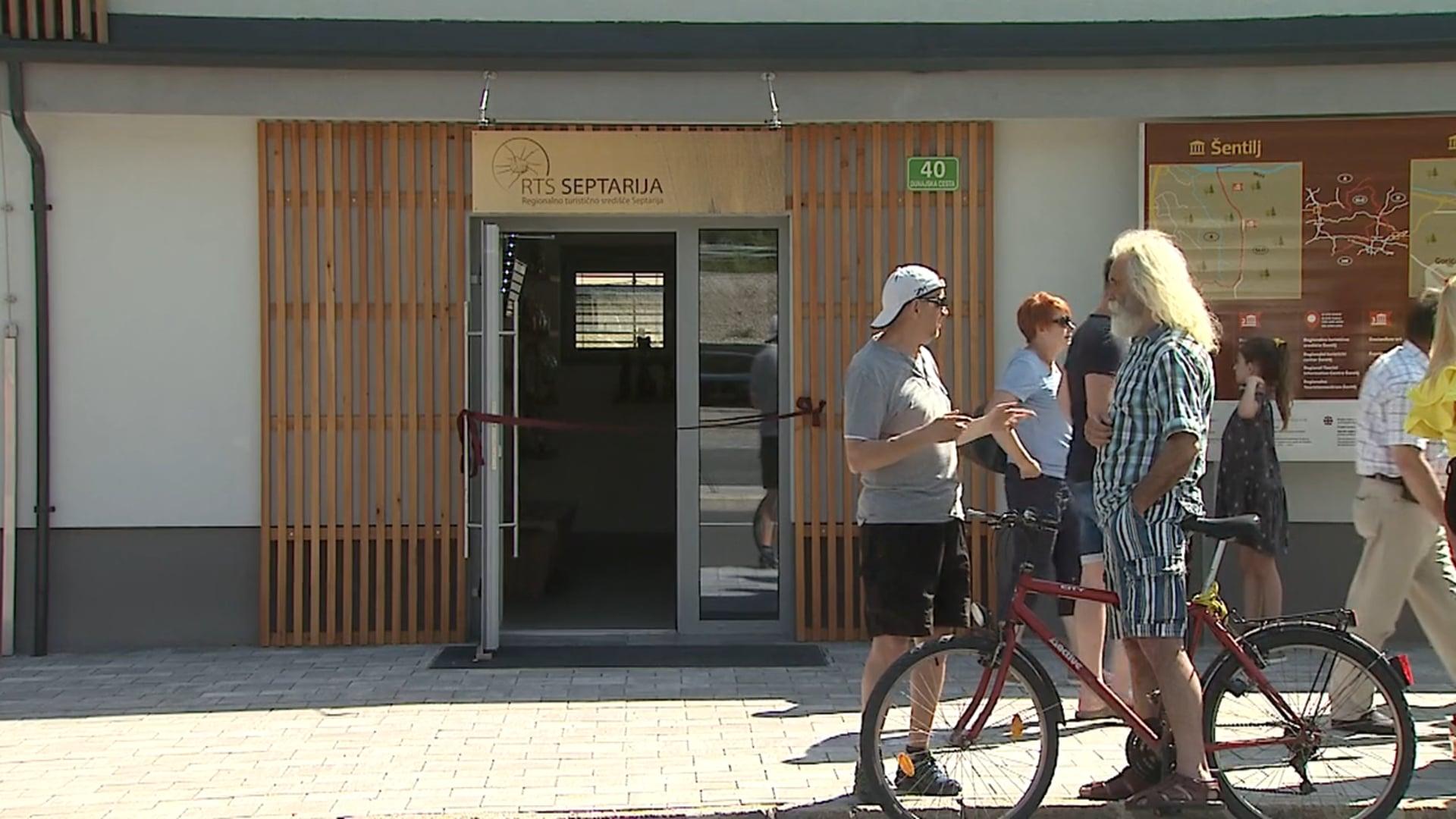 Otvoritev regionalnega turističnega središča Šentilj