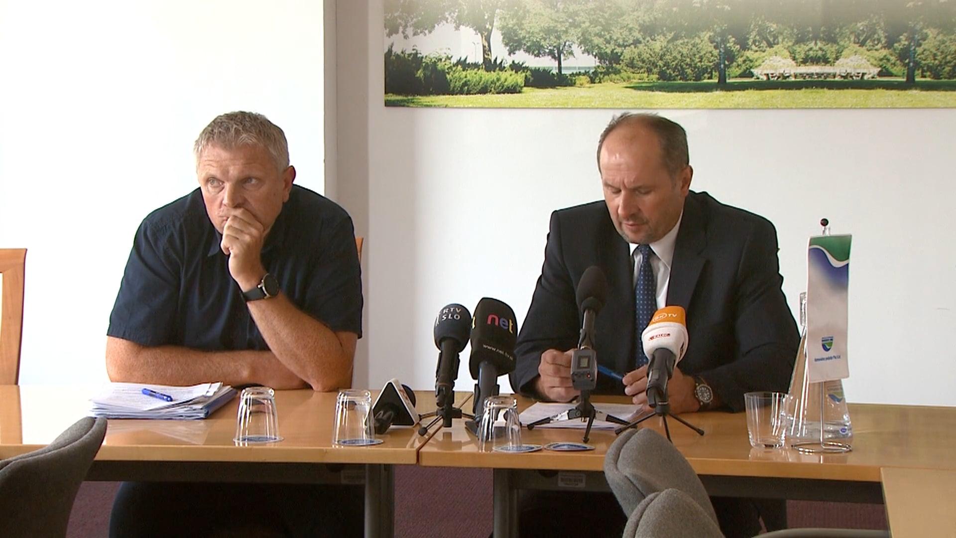 Novinarska konferenca Komunalnega podjetja Ptuj