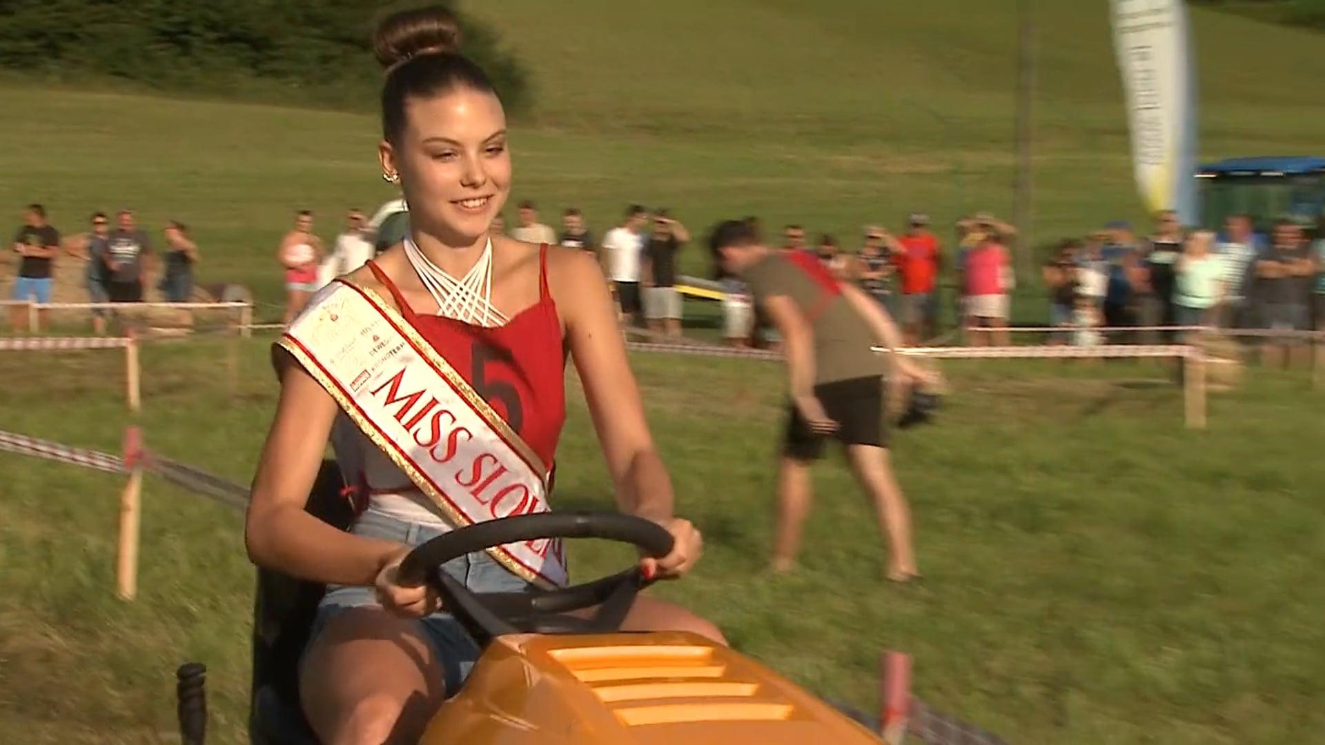 V Jarenini je dirkala tudi Miss Slovenije