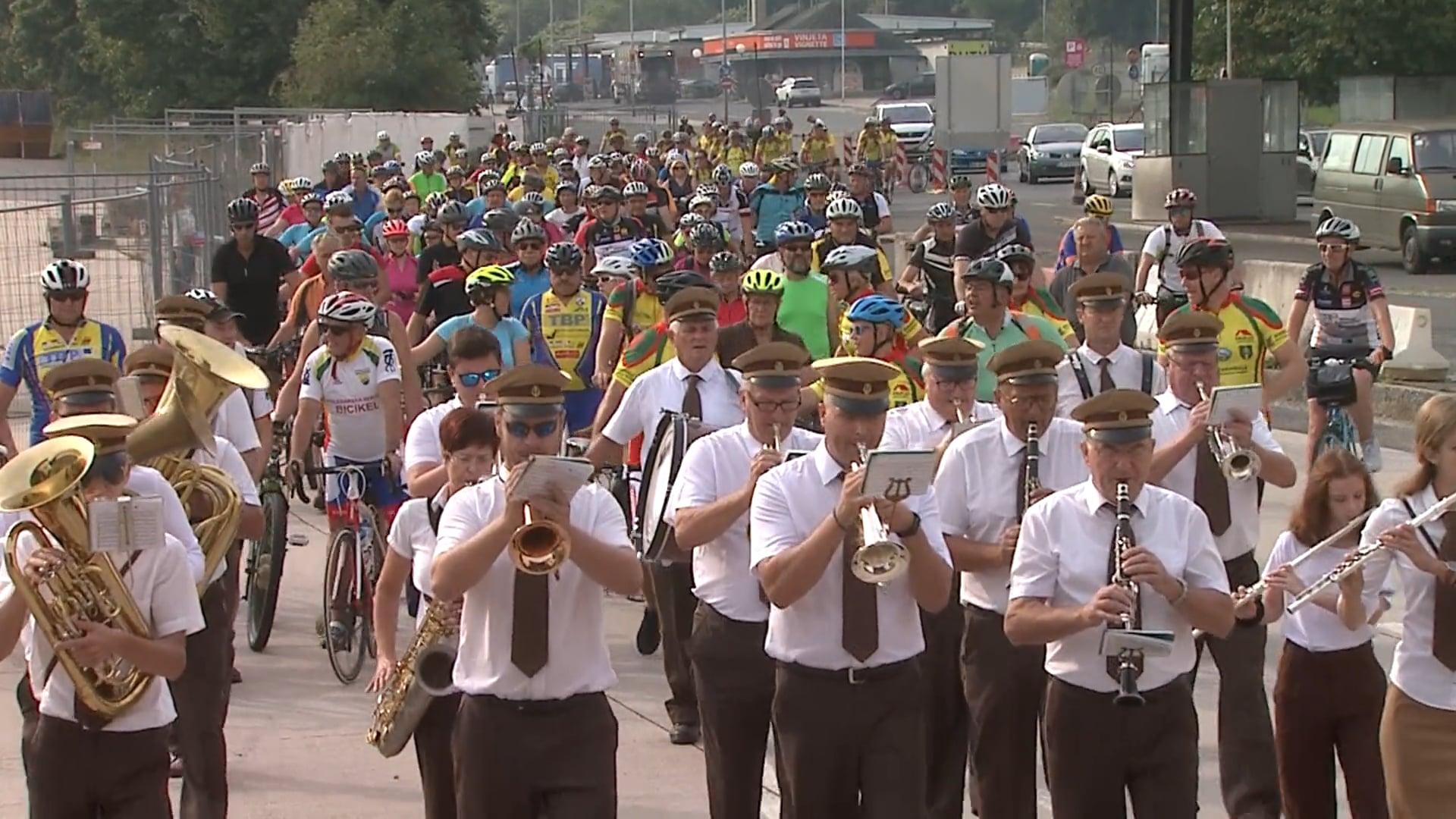 Slovensko avstrijsko druženje na kolesih