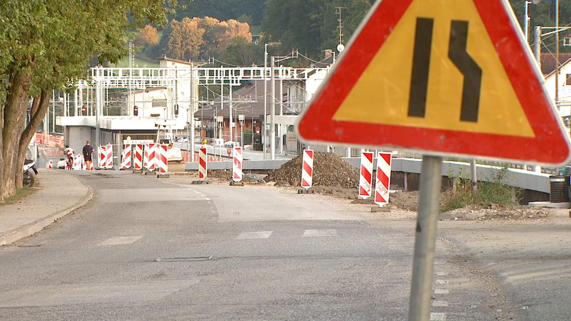 Rekonstrukcija Maistrove ceste v Šentilju