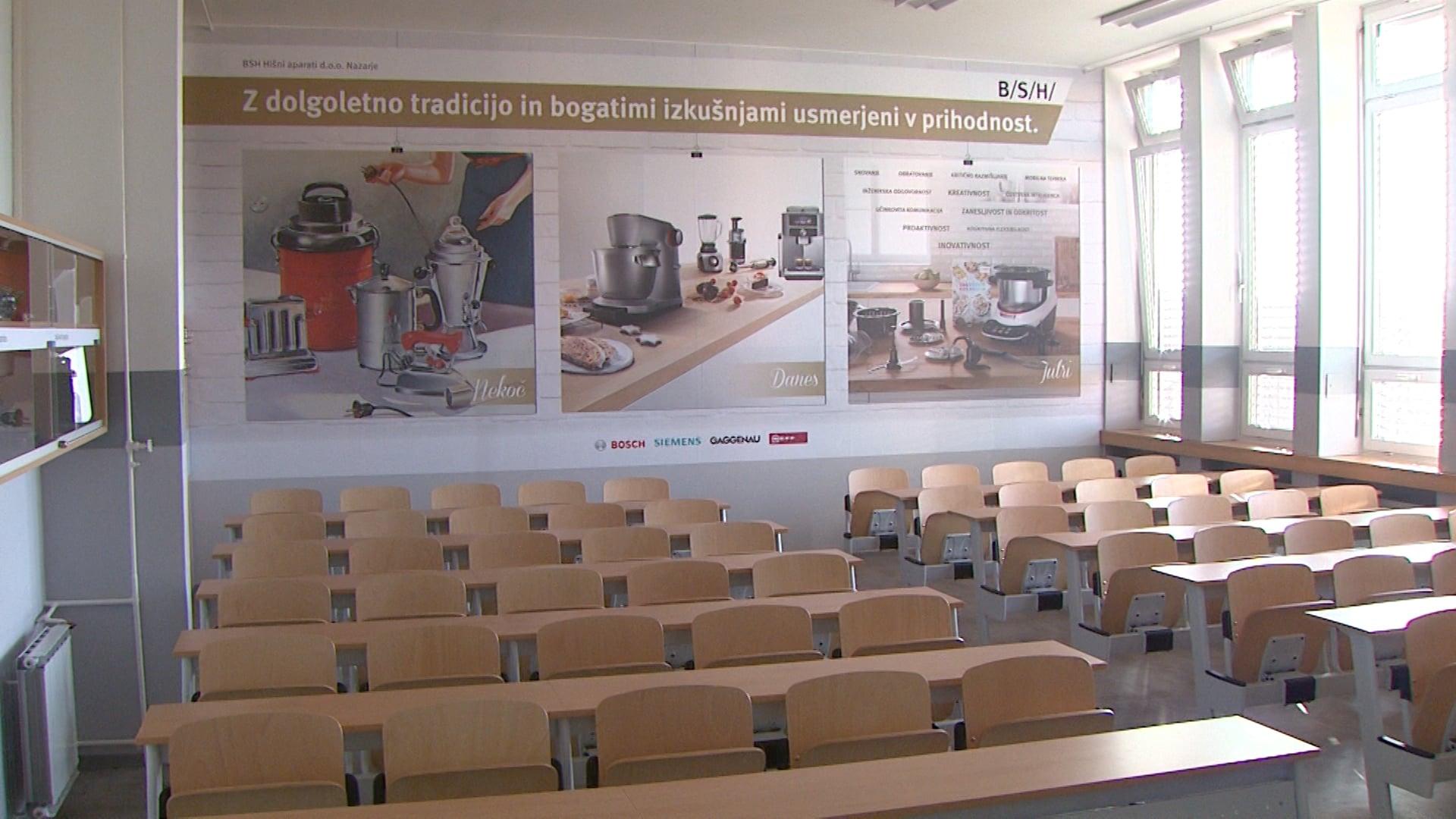 Otvoritev prenovljene predavalnice