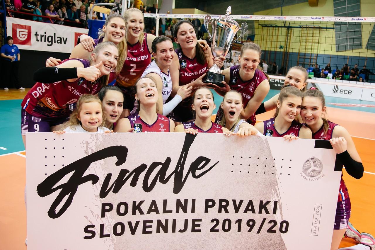 Mariborčanke osvojile pokalno prvenstvo
