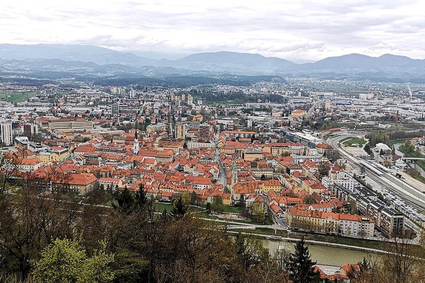 Slovensko mesto na lestvici najnevarnejših mest v Evropi