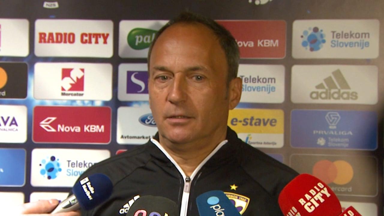 """Darko Milanič: """"Čaka nas težja tekma, kot sta bili prejšnji""""."""