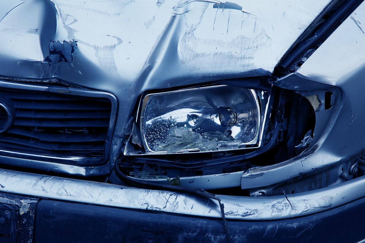 Drevo padlo na vozilo, voznik na kraju nesreče umrl