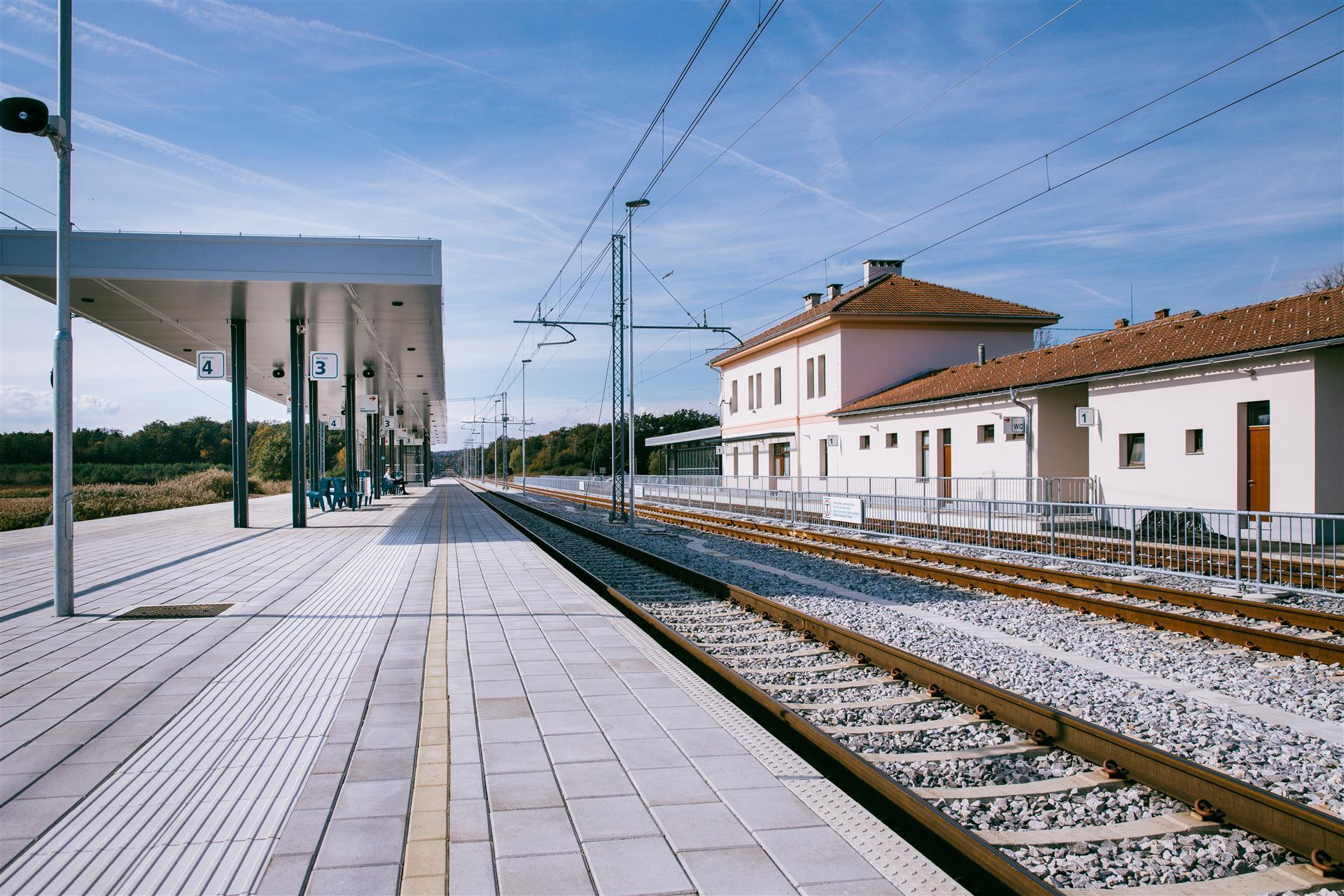 Nova podoba železniške postaje Slovenska Bistrica