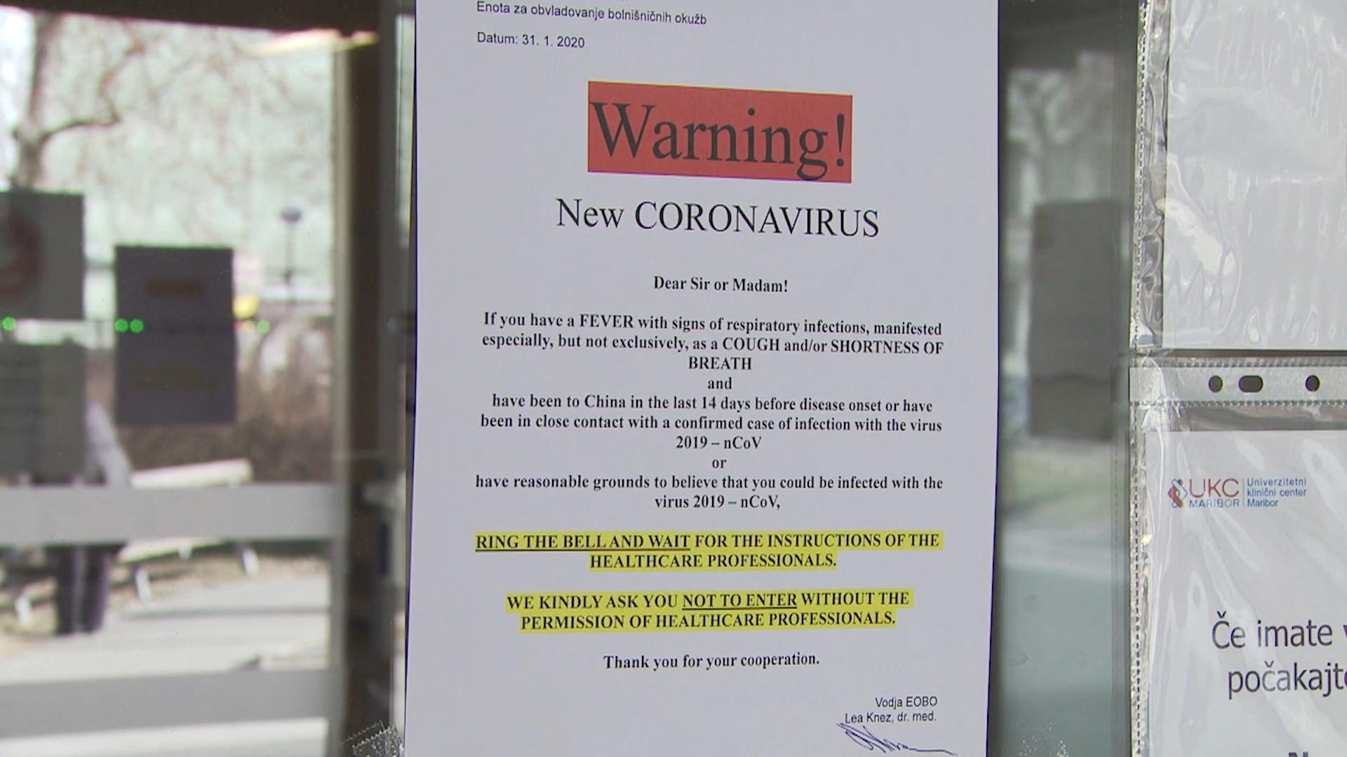 V UKC Maribor pripravljeni na novi koronavirus
