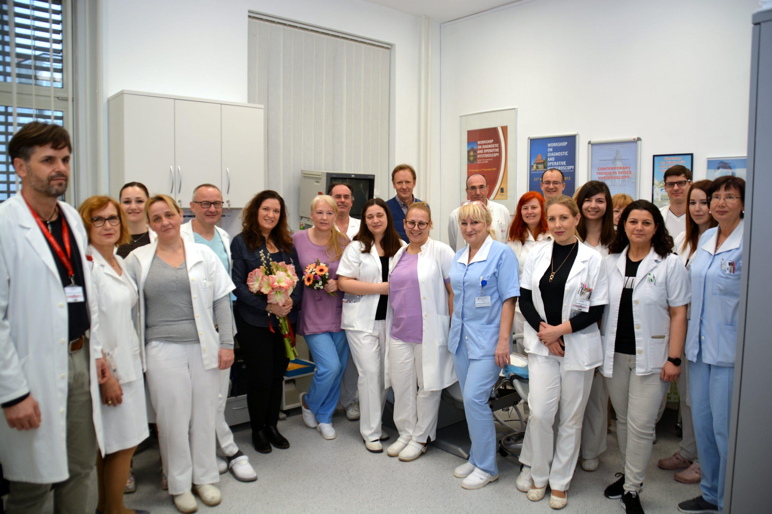 Histeroskopski posegi v prenovljeni ambulanti