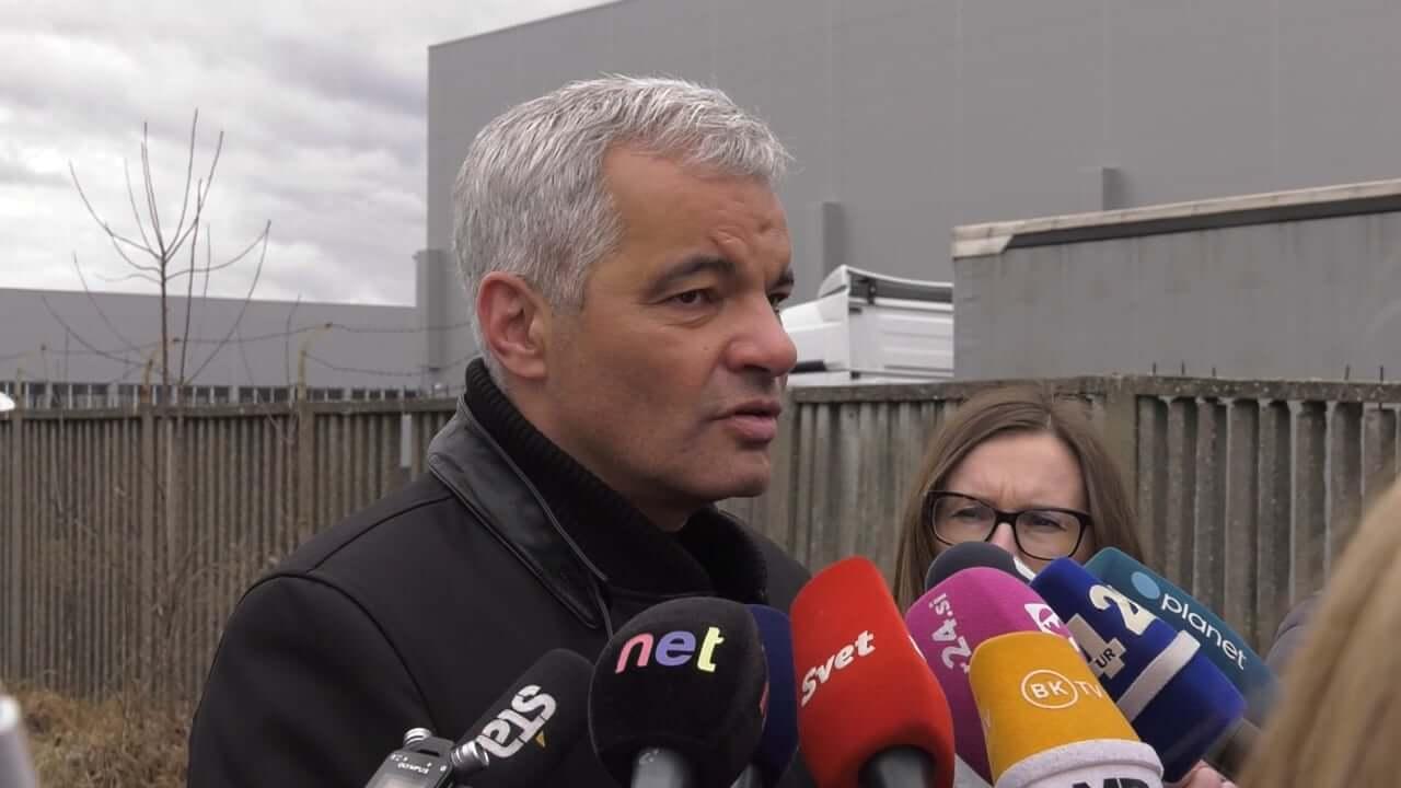 Zaskrbljenost župana Maribora zaradi požara v Surovini