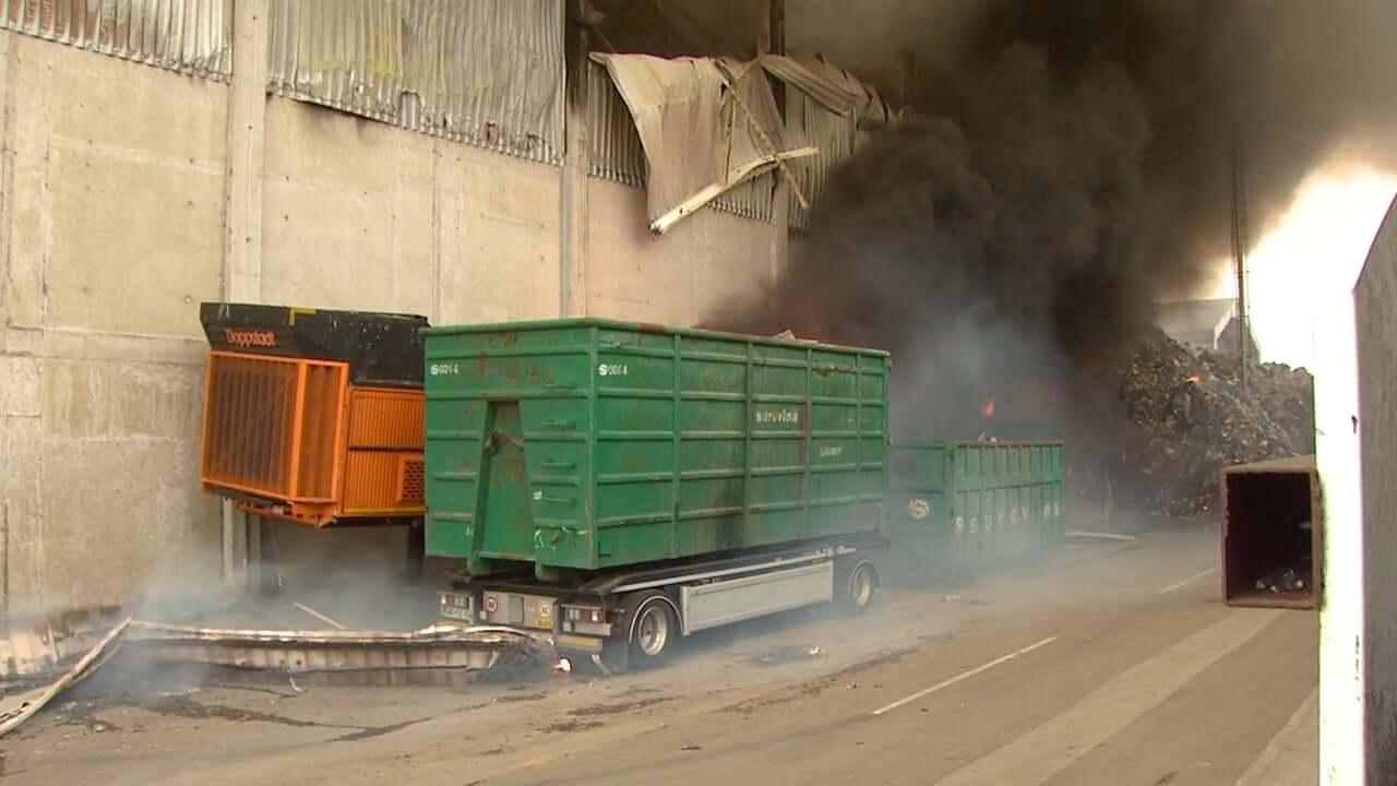 Vzrok zadnjega požara v Surovini samovžig odpadkov