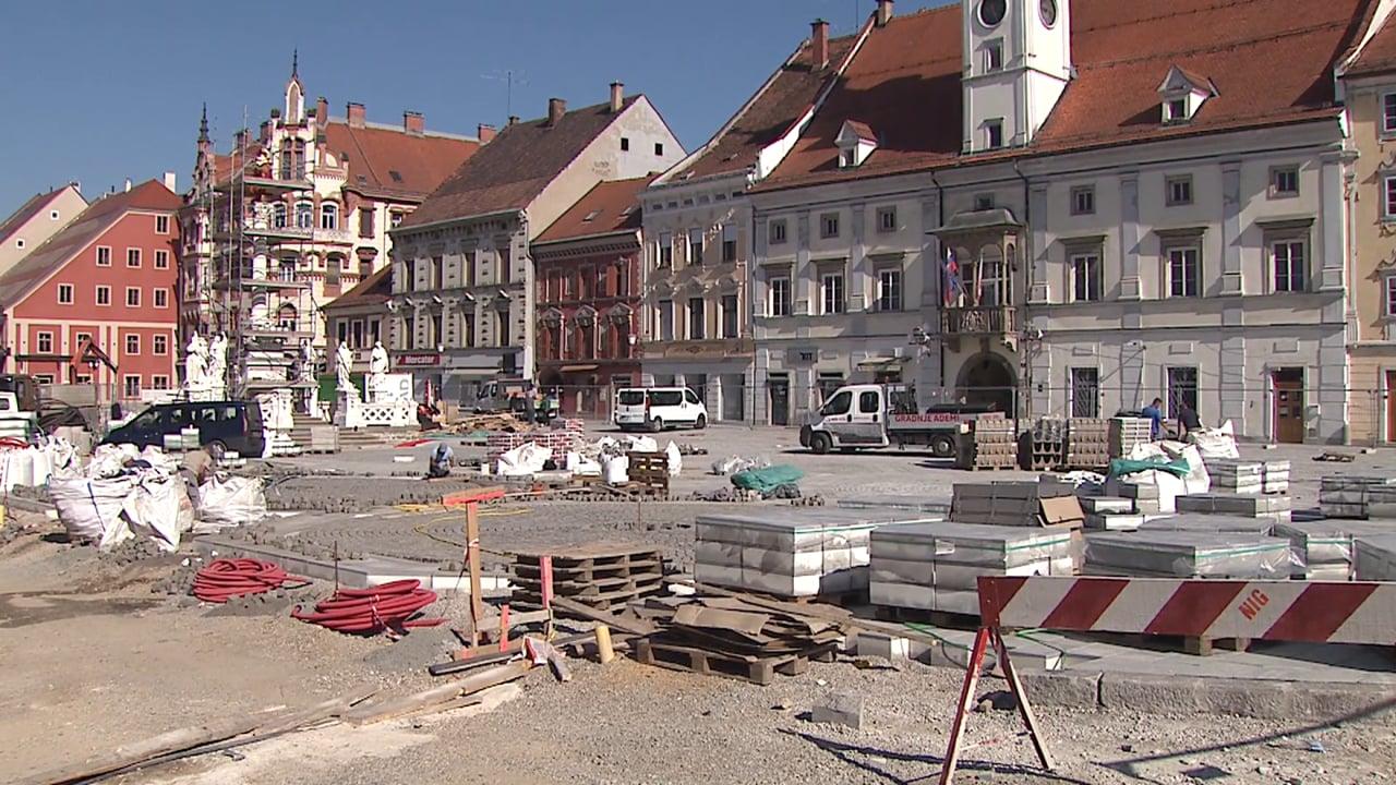 Obnova Koroške ceste in Glavnega trga pri koncu