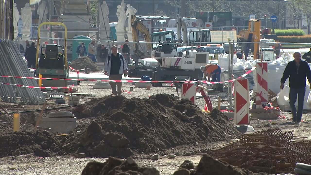 Obnova Glavnega trga in Koroške ceste