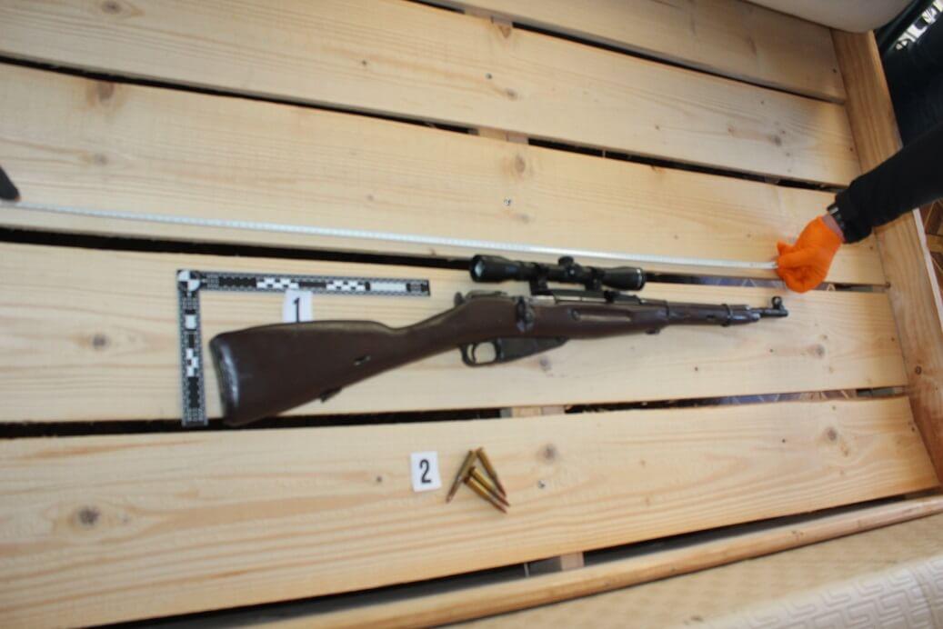Brez dovoljenja posedoval lovsko puško