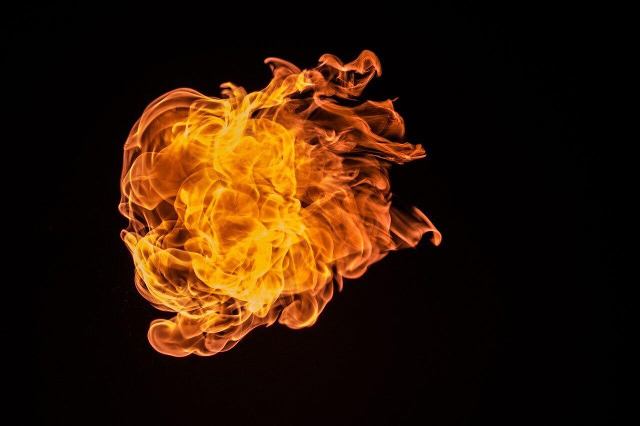 Eksplozija in požar v okolici Maribora