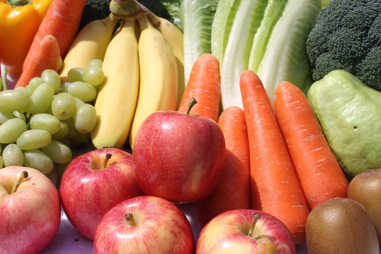 Na Vzhodu Evrope pojemo najmanj sadja in zelenjave