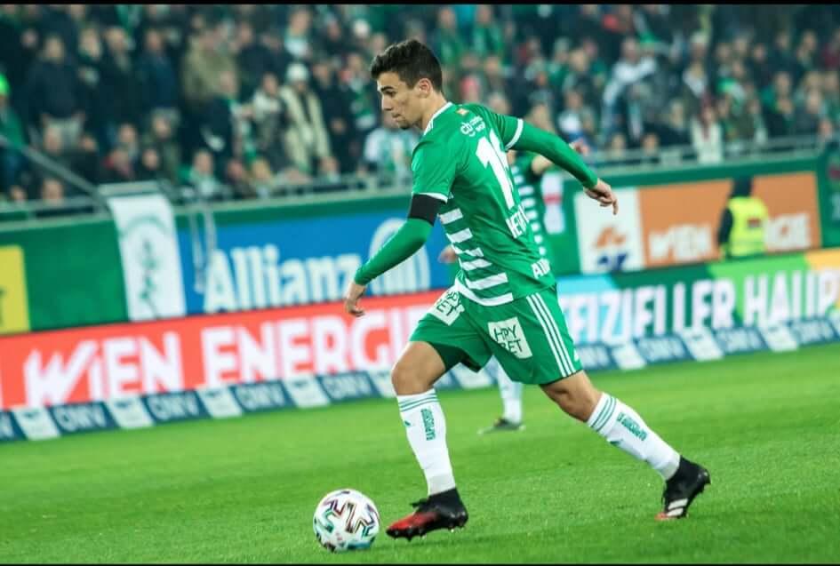INTERVJU: Dejan Petrovič; spregledan talent Maribora in Olimpije, ki kariero gradi na Dunaju