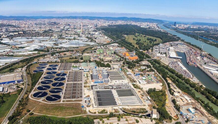 Na Dunaju iz odpadnega blata proizvajajo čisto elektriko
