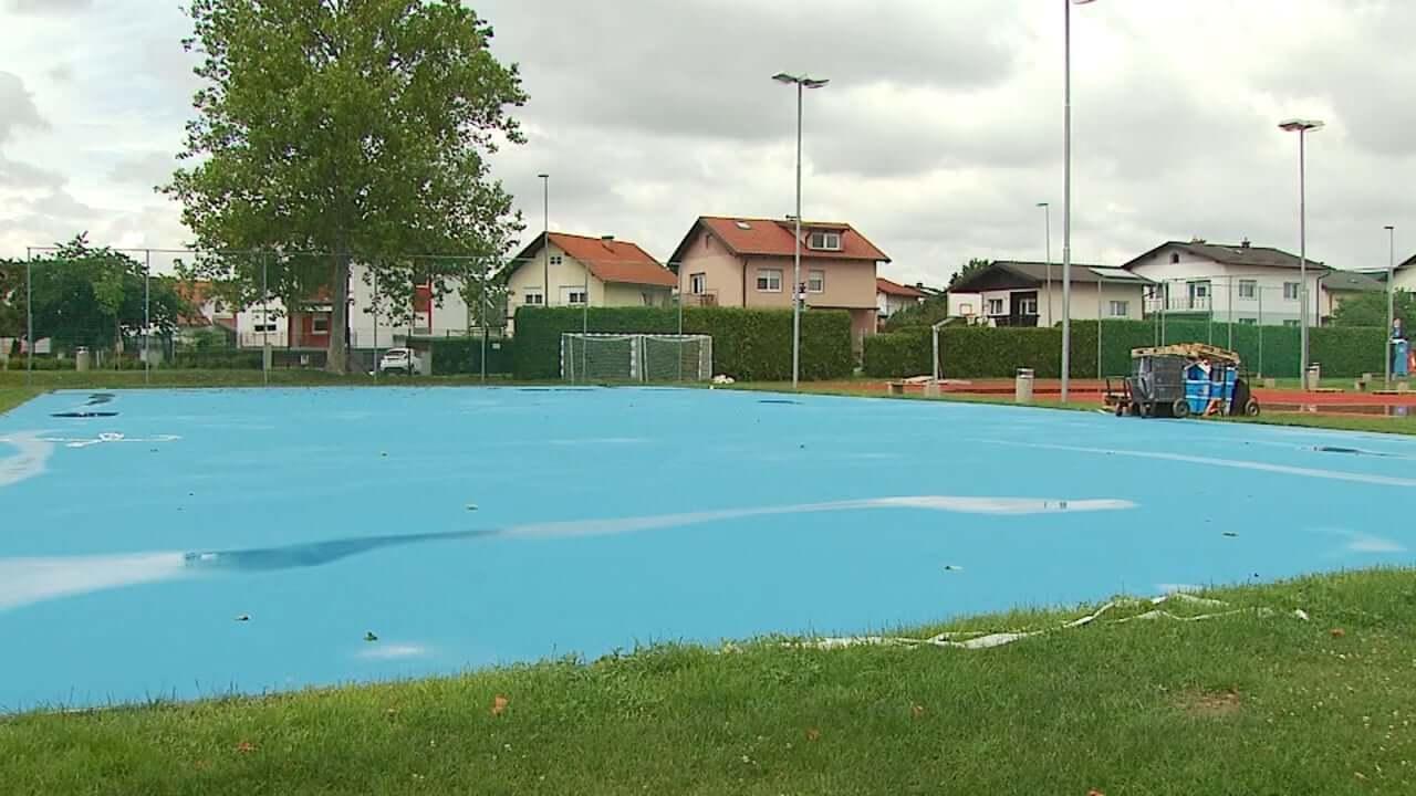 Sanacija športnega parka