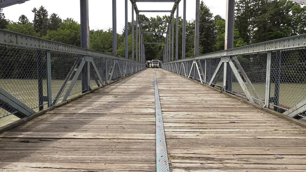 Most na Mariborski otok v slabem stanju, a vseeno še vedno varen