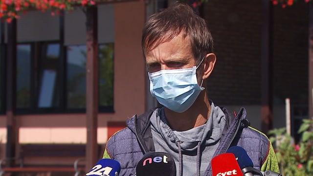 """Marko Slavič: """"V trenutku je bila uvedena karantena za vse zaposlene, ki so bili v stiku z okuženo."""""""
